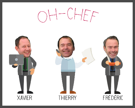 Discover the team of Oh-Chef !