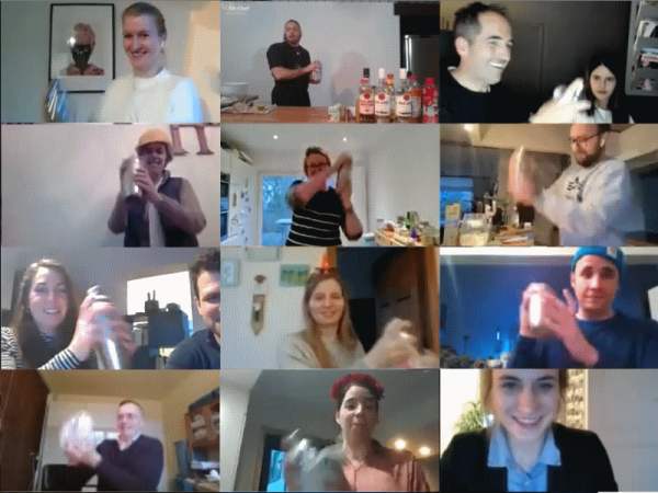Online Team Cocktails