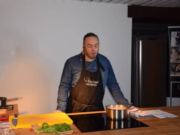 Online Team Cooking